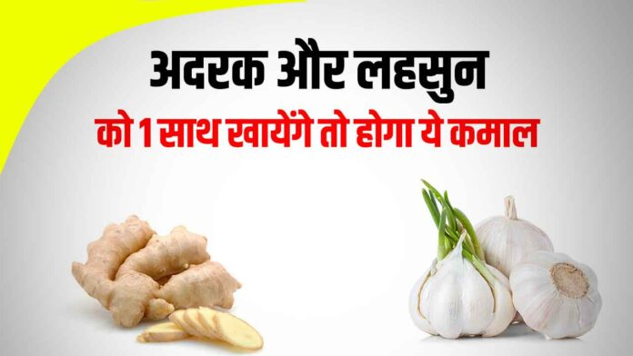 Benefits of ginger and garlic